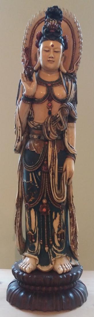 Hakuin (1686-1769), portret van Bodhidharma (de legendarische grondlegger van zen)