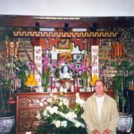 Jiun roshi, ceremony for Prabhasa Dharma zenji, 1999