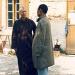 Prabhasa Dharma zenji with Thich Nhat Hanh