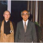 Prabhasa Dharma zenji with Masao Abe