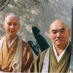 Prabhasa Dharma zenji with Joshu Sasaki roshi