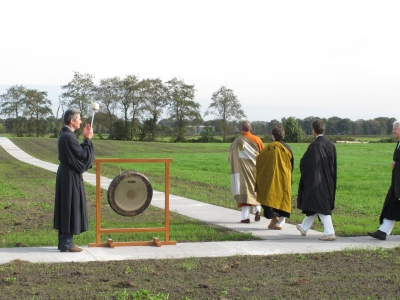 Opening of the kinhin paths